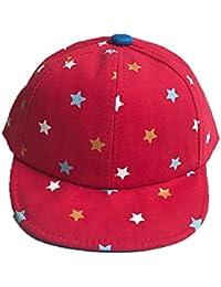 pingtr Sombrero del bebé niña y niño,Primavera,otoño Cinco Estrellas Gorras de béisbol