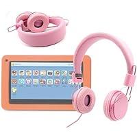 DURAGADGET Auriculares Infantiles Color Rosa Para FNAC Junior - Acolchados Y Ajustables Peques!- Disponible