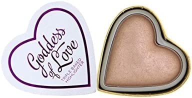 Makeup Revolution I Heart Makeup Hearts Highlighter Goddess of Love, 10g