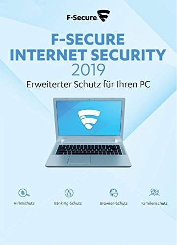 F-Secure Internet Security 2019 - 1 Jahr / 3 PCs für PC [Online Code]