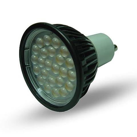 Litecone GU10 24SMD 5050 240v AC 5W 60 Degree Cool White LED Light Bulb Lamp - 0128 x8