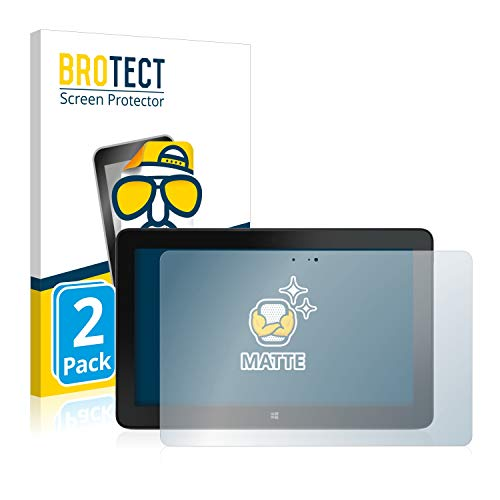 BROTECT Entspiegelungs-Schutzfolie kompatibel mit Dell Venue 11 Pro 7140 (2013-2014) (2 Stück) - Anti-Reflex, Matt