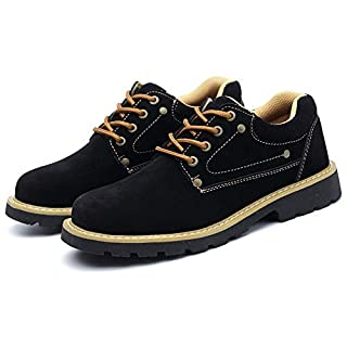 Arbeitsschutz Schuhe für Winter Mode, atmungsaktiv Anti-Smash Anti-Thorn warm,Industriebau Männer und Frauen Arbeiten Sicherheitsschuhe,39
