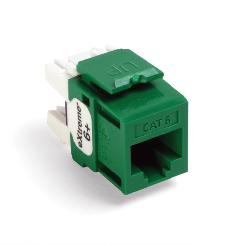 leviton-61110-rv6-extreme-6-quickport-connector-cat-6-green