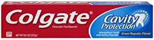 Colgate Cavity Protection Fluoride Toothpaste (Regular Flavor)