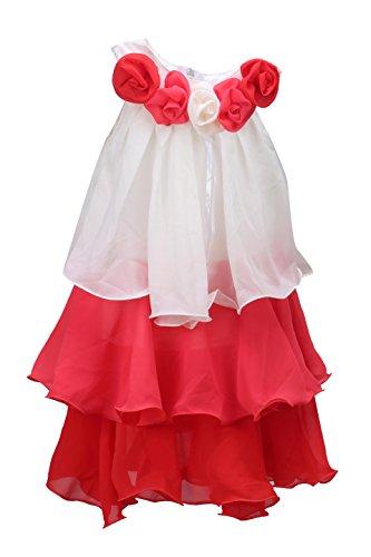 5f58f62d1 Wish Karo baby girls Party wear frock dress DN051T fr051T -