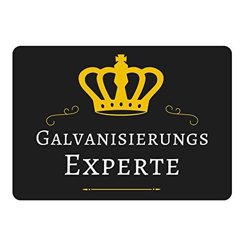 galvanisierungs-expert-tapis-de-souris-noir