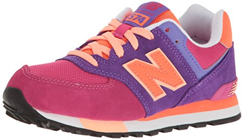 New Balance Unisex-Kinder Kl574 Kurzschaft Stiefel Mehrfarbig (Nebula)