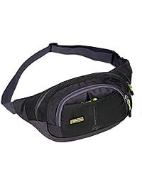 Generic Waterproof Running Bags Waist Bag Man Shoulder Bag Men Sport Canvas Messenger Bags Outdoor Travel H1E1...