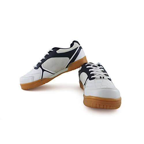 Vector X Warrior Badminton Shoes (White)