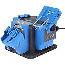 Affûteuse de couteau électrique multifonction perceuse affûteuse couteau et affûteuse de ciseaux outils de meulage de prise de force (Couleur : Royal Blue)