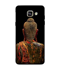 small candy 3D Printed Back Cover For Samsung Galaxy A3 2016 -Multicolor buddha