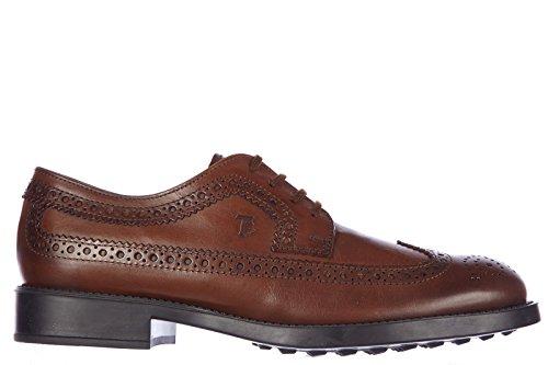 tods-clasico-zapatos-de-cordones-hombres-en-piel-nuevo-derby-esquire-marron-eu-425-xxm0ml00c10d9as80