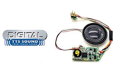 Hornby R8110 TTS - Decodificador de Sonido (Accesorio de riel de Clase 'Castle