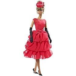 Barbie Muñeca Collector Glamour, color rojo (Mattel CGT26)