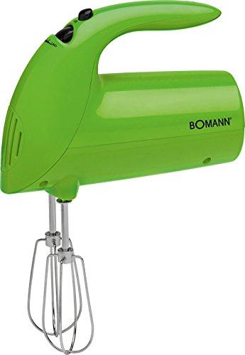 Bomann 603502 Batidora de Varilla Especial repostería, 5 velocidades, Verde, 250 W