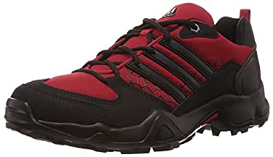 adidas Men's Zetroi 2.0 Scarlet, Black and Vista Grey Outdoor Multisport Training Shoes - 12 UK