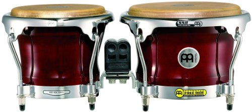 MEINL PERCUSSION FWB400CR   BONGO DE MADERA COLOR ROJO