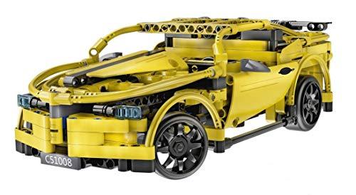 CaDA RC Chevrolet Camaro gelb, Technik Baukasten, 419 Teile