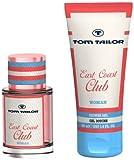 TOM TAILOR East Coast Club Women Eau de Toilette 30 ml + Showergel 150ml, 1er Pack