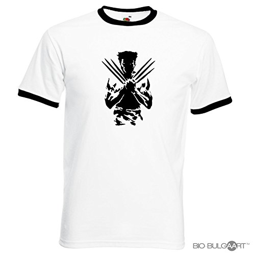 New Logan T-shirt Logan Movie Tshirt Comic X-Men Wolverine Hugh Jackman Men's Tshirt Marvel Superhero Sizes S to XXL
