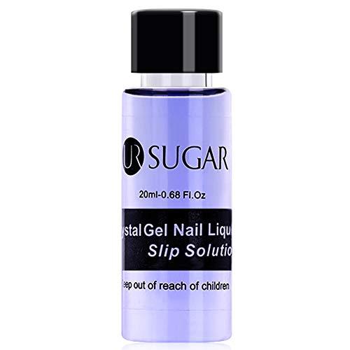Liquid-gel-nägel (UV Nail Liquid Slip Solution, 20 ml UV Nagelverlängerung, Kristallgel, verlängert)