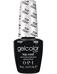Vernis à ongles LED/UV OPI Gel Couleur 15ML - TOP COAT - 100% gel authenic - livraison gratuite