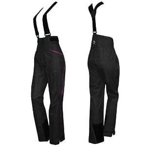 2117 OF SWEDEN STORSYLEN ECO PANT 12/13 Damen Skihose Snowboardhose mit 16.000mm Wassersäule 7622928 (BLACK - schwarz, M/38)