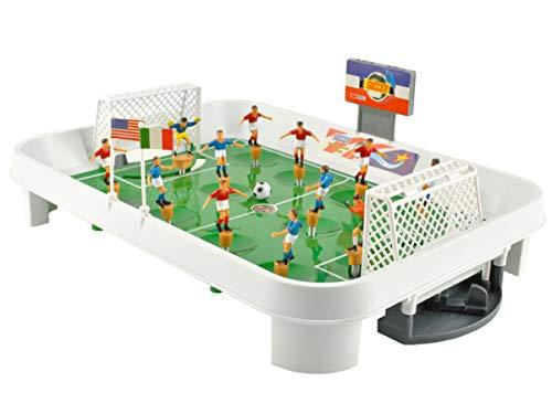 Iso Trade 12 Spieler 24 Flaggen Tischfußball Kunststoff Kickers Spiel Spaß Unterhaltung Kickertisch 6726