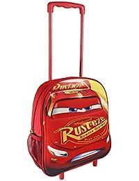 Cars 3D Mochila infantil, 31 cm, Rojo