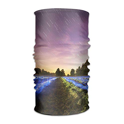 Wdskbg star sky headwear universe print sports headbands for women and men outdoor magic uv protection bandana dance for hiking running yoga 45 outdoor3