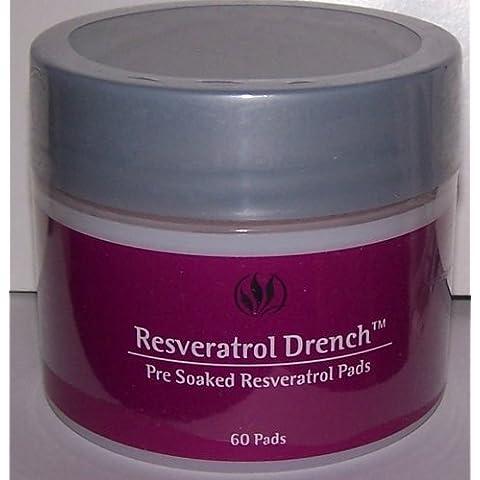 SERIOUS SKIN CARE RESVERATROL DRENCH PRE-SOAKED PADS 60 PADS by Serious Skin (Pre Soaked Pad)