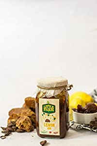 Lemon Jaggery Pickle/Nimbu Gur Ka Achar 400 gm - Homemade, Farm fresh, Preservative Free, Gourmet Foods & Traditional Taste - By The Little Farm Co
