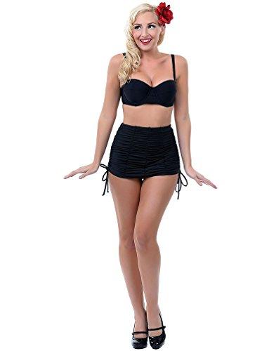 missfox-femmes-vintage-bikinis-retro-2-pieces-maillot-de-bain-taille-haute-maillot-natation-noir-xl
