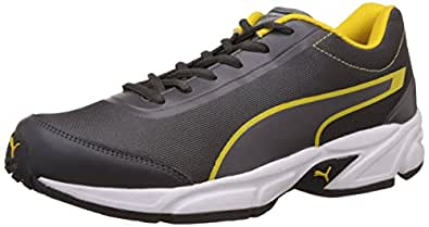 Puma 18937502 Mesh Sports Shoes, Men's Size 6 (Brown)