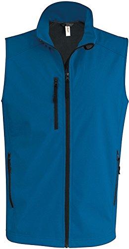 Kariban - Bodywarmer homme softshell Kariban Aqua blue