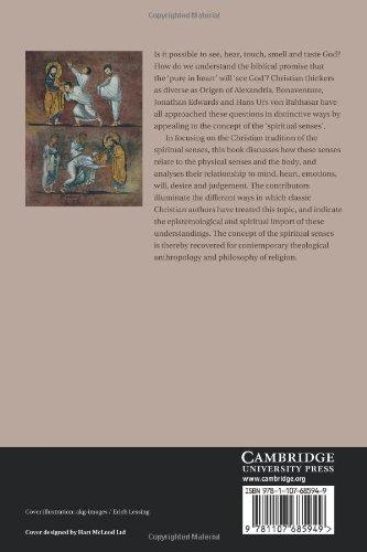 The Spiritual Senses: Perceiving God in Western Christianity