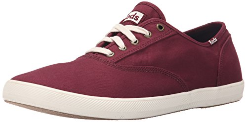 Keds Men's Champion Army Twill Fashion Sneaker, Burgundy, 10.5 M US (Sportschuhe Keds)