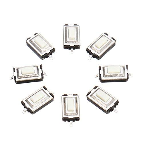 Ils - 100 Stück 3 x 6 x 2,5 mm DC 12V 0.5A SMD Tact Push Button Switch -