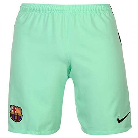 Nike - FCB YTH HA3G STADIUM SHORT - Pantalon court - Vert (Green Glow / Black) - FR: 6-7 ans (Taille Fabricant: XS)