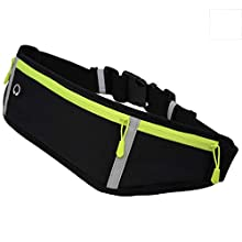 MCKhome Running Belt Hydration Waist Pack Fitness Bum Bag