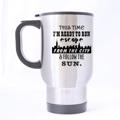 Funny Novetly prêt à rouler de voyage en acier inoxydable à thé-Mug Tasse à thé/- 14 Cl