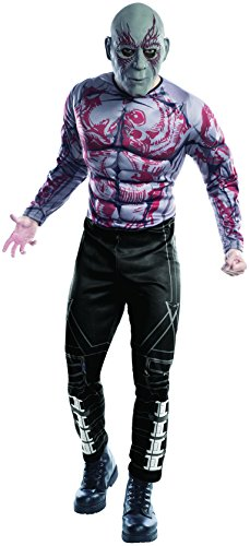 Kostüm Of The Drax Galaxy Guardians - Toy Zany Guardians of The Galaxy Drax The Destroyer Adult Kostüm | XL