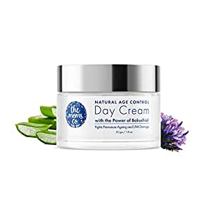 The Moms Co Natural Age Control Day Cream l Face Cream l Reduce Fine Lines, Wrinkles & Sun Protection l Anti Ageing with Natural Retinol & Green Tea (50 gm)
