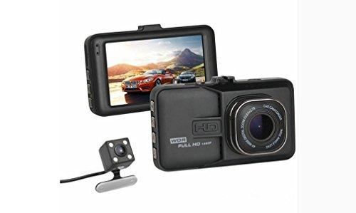 Nola Sang In-Car DVR 1080P Dual Objektiv Dash Kamera Full HD Digital Fahren Video Recorder 170 Wide-angl Parkmonitor Bewegungserkennung