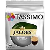 Tassimo Jacobs Espresso Ristretto (16 Portions) (Pack de 4)