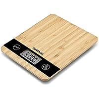 G3Ferrari G20087 Natura Kitchen - Báscula de cocina electrónica de bambú
