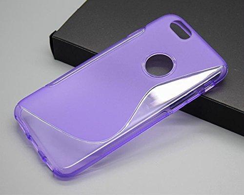 Monkey Cases® iPhone 6-4,7pouces s Shape Case for iPhone 6-TPU Silicone-Violet-Téléphones Portables-Original-Neuf/emballage d'origine
