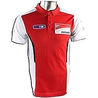 Ducati MotoGP–Polo, color rojo/blanco