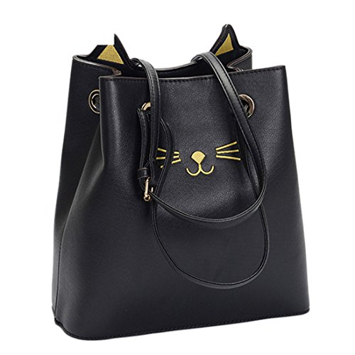 iTECHOR, Borsa a zainetto donna Black